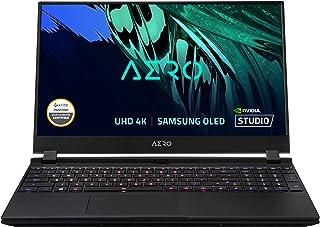 """GIGABYTE AERO 15 OLED KD - 15.6"""" UHD 4k AMOLED IPS, Intel Core i7, NVIDIA GeForce RTX 3060 Laptop GPU 6GB GDDR6, 16GB RAM,..."""