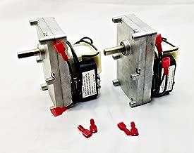 Pellethead 2 Pack for Englander 1RPM Pellet Stove Auger Motor PU-047040 PH-CCW1- Top and Bottom Auger Motor
