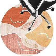 Rug for Desk Chair Low Pile Carpet Non Slip Chair Mat Silent Floor Protector Mat for Wooden Floors Ceramic Tile Laminate(S...