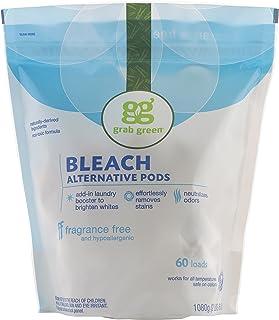 Grab Green, Bleach Alternative Pods, Fragrance Free, 60 Loads, 2 lbs 6 oz (1080 g)