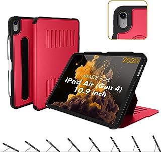 ZUGU CASE (Nowy model) Obudowa Alpha do iPada Air Gen 4 (2020) - ochronna, ultra cienka, magnetyczna podstawka, osłona do ...