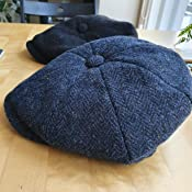 Failsworth Harris Tweed Carloway Baker Boy Newsboy Cap Amazon Co Uk Clothing