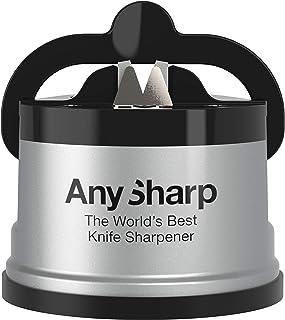 AnySharp World's Best Knife Sharpener with PowerGrip