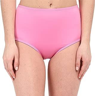 Women's Georgica Beach High Waist Bottom, Vibrant Pink, SM
