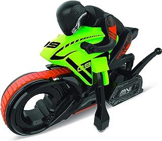 Radio Controlled - Stunt Series - Cyklone Motorbike - 27 MHz - Runs on Belt Drive - Performs Donuts - Assorted