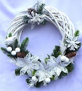 Noël déco décoration Couronne de Noël Décoration de Noël NOUVEAU. Imprimé 2