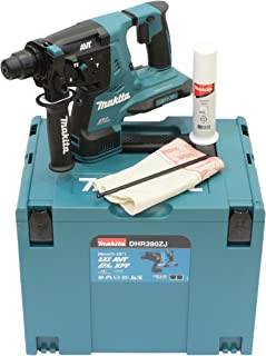 Makita DHR280ZJ (36V) Twin 18V Li-Ion LXT Brushless Rotary Hammer SDS-Plus Supplied in A Makpac Case - Batteries and Charg...