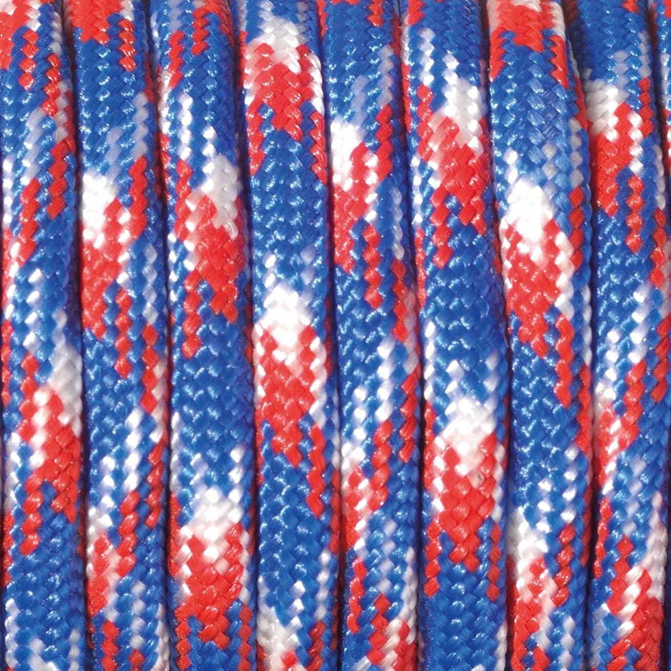 Efco Paracord Colour Mix 550 4 mm x 4 m 1 pc. red Blue White, Polyester Blend, 20 x 10 x 5 cm