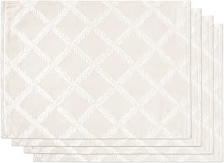 Amazon Com Place Mats Ivory Place Mats Kitchen Table Linens Home Kitchen