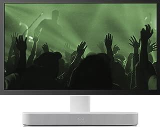Flexson Adjustable TV Stand for Sonos Beam - White