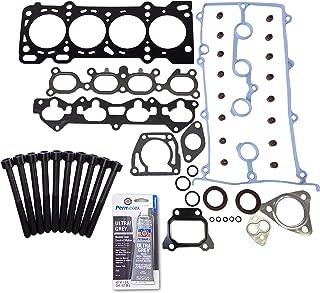 Head Gasket Set Bolt Kit Fits: 93-97 Ford Probe Mazda 626 MX6 2.0L 16v DOHC FS VIN A
