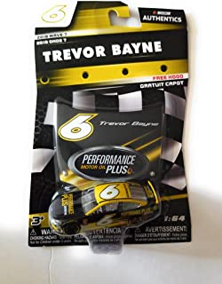 NASCAR Authentics Trevor Bayne #6 Diecast Car 1/64 Scale - 2018 Wave 7 - with Free Hood- Collectible