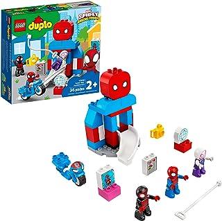 LEGO DUPLO Marvel Spider-Man دفتر مرکزی 10940 Spidey and Friends Amazing Friends TV نمایش اسباب بازی ساختمان برای کودکان ؛ جدید 2021 (36 قطعه)