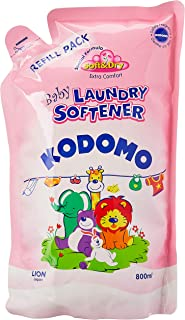 Kodomo Baby Laundry Softener Refill, 800ml