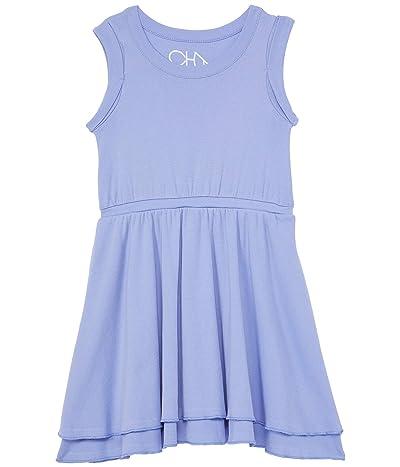 Chaser Kids Rib Rolled Armhole Tank Dress (Toddler/Little Kids)
