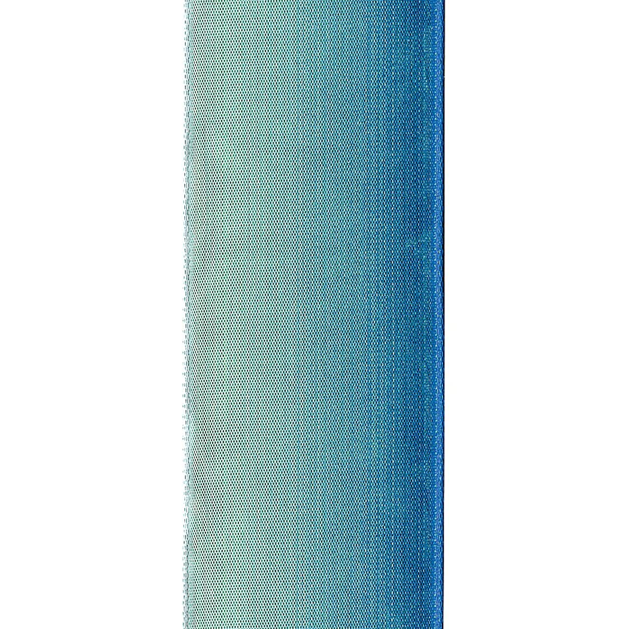 Offray Wired Edge Ombre Craft Ribbon, 1-1/2-Inch Wide by 15-Yard Spool, Teal