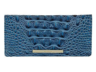 Brahmin Melbourne Ady Wallet (Bluebonnet) Wallet Handbags