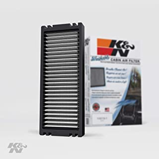 K&N Premium Cabin Air Filter: High Performance, Washable, Lasts for the Life of your Vehicle:  Designed For Select 2005-2018 Nissan (Frontier, Pathfinder, Navara, NP300, Xterra) Vehicle Models, VF1001