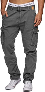 LAMEDA Pantalon Jogging Homme Hiver Chaud Pantalon de Travail Homme Imperm/éable Pantalon Cargo Homme Coupe-Vent pour Randonn/é Cyclisme VTT Alpinisme Noir S-3XL L2010