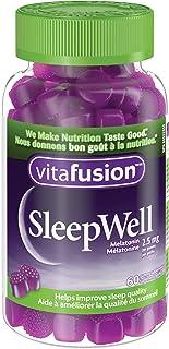 Vitafusion SleepWell Gummy Vitamins with Melatonin, 60 Count