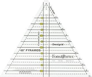 Dritz Fons & Porter R7894 Pyramid Ruler