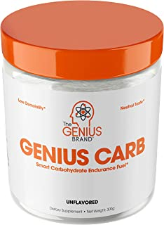 Genius Carbohydrate Powder – Smart Carb Source for Pre, Intra or Post Workout |Sustain Energy, Speed Recovery and Gain Lea...