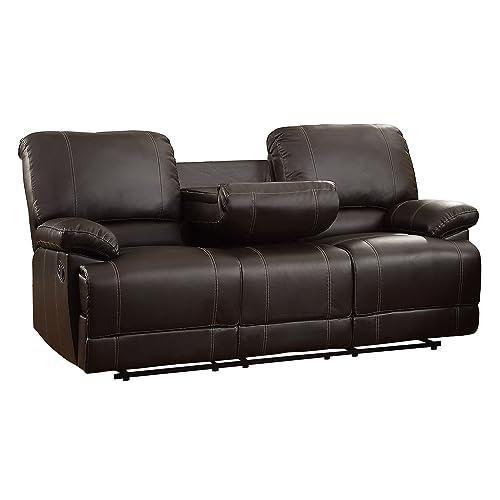 Dual Reclining Sofa Amazon Com