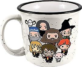 Spoontiques Harry Potter Ceramic Camper Mug, 14 oz, White