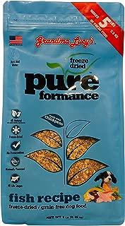 Grandma Lucy's Pureformance Fish Grain Free Freeze Dried Dog Food - 1 Pound Bag