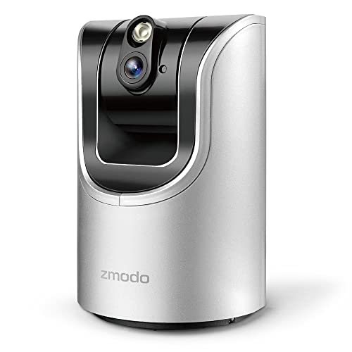Zmodo Pan and Tilt Wireless Two-Way Audio Camera Smart HD WiFi IP Camera with