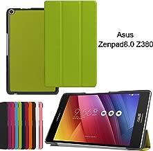Asng ASUS ZenPad 8.0 Z380M Case, Ultra Slim Lightweight Standing Cover for ASUS ZenPad 8.0 Z380M, Z380C, Z380CX, Z380KL 8 Inch Tablet (Green)