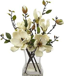 Best artificial magnolia flower arrangement Reviews