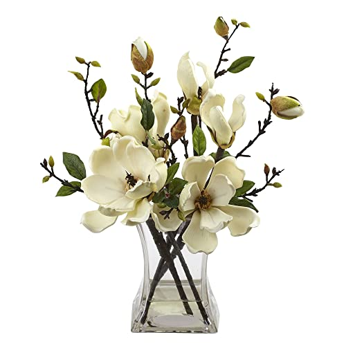 Artificial Magnolia Flowers Amazoncom