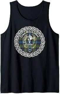 Maclellan surname last name Scottish Clan tartan badge crest Tank Top