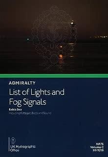 Admiralty List of Lights & Fog Signals: Volume C: Baltic Sea; including Kattegat, Belts and Sound, 2019/2020 Edition