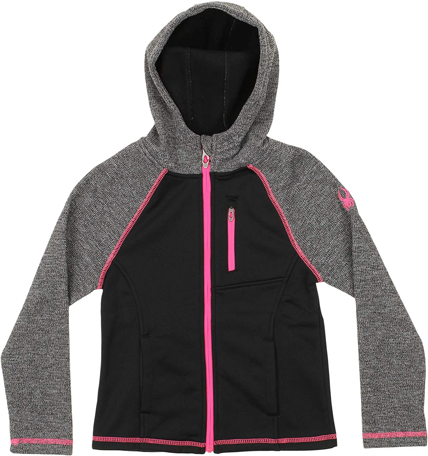 Spyder Girls Youth (7-16) Alayna Full Zip Sweater Hoodie, Color Variation