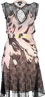 Just Cavalli womens Just Cavalli Womens Ikat Butterfly Print Dress Dress