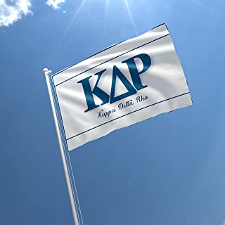 greeklife.store Kappa Delta Rho Licensed Flag 3x5 Feet for Home, Business, Basement, Garage. Durable 100% Polyester, Metal Grommets for Hanging, Printed on Demand