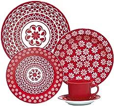 1 Aparelho de Jantar e Chá 20 Peças Oxford Daily Floreal