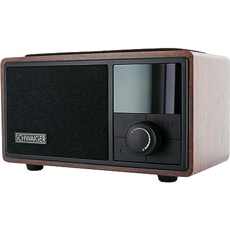 Schwaiger 715729 Radiowecker Mit Bluetooth Ukw Und Elektronik