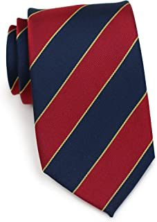 british regimental stripe ties