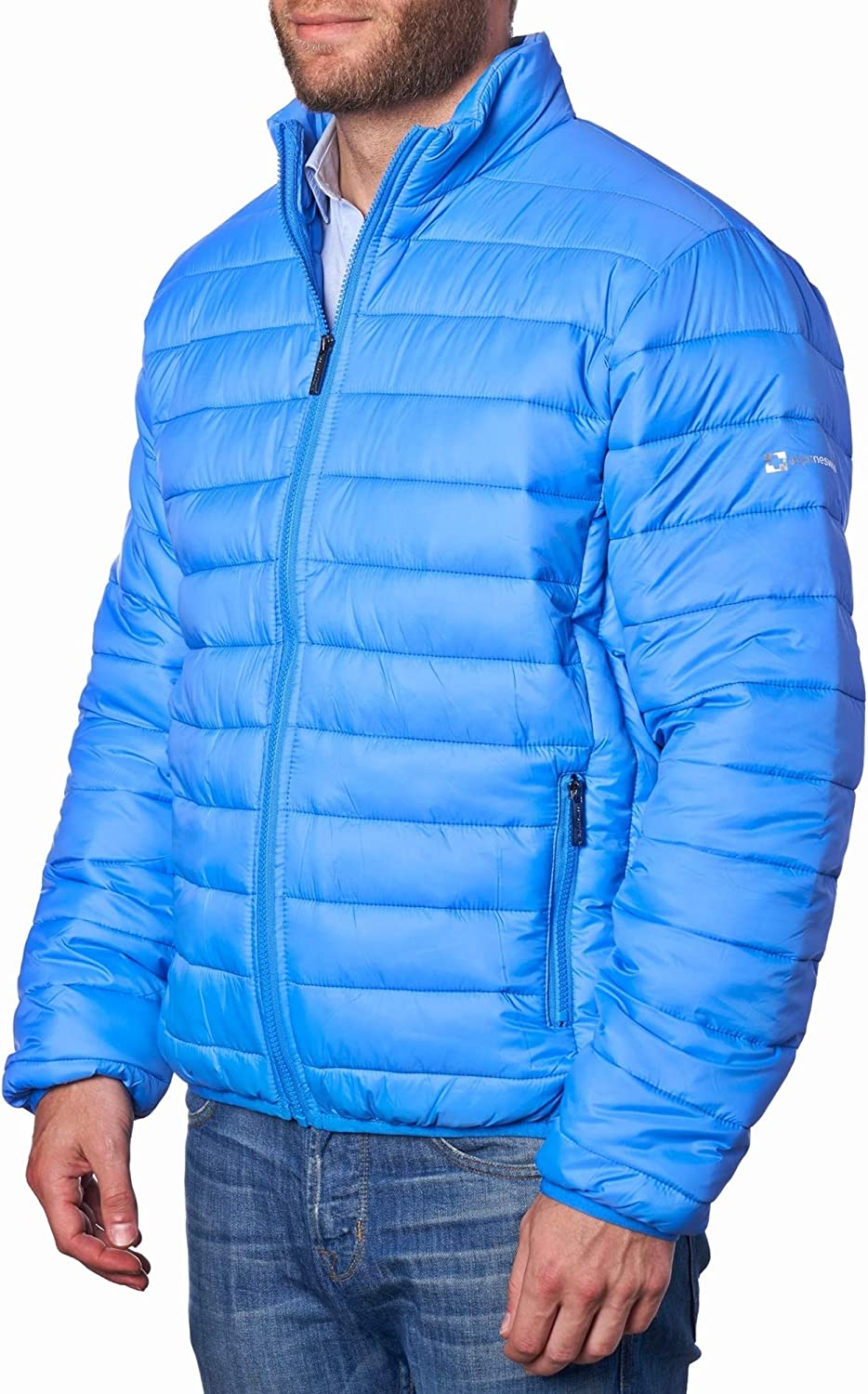 Alpine Swiss Niko Mens Down Alternative Coat Puffer Packa Price reduction Outlet sale feature Jacket