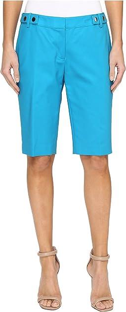 Snap Waist Bermuda Shorts