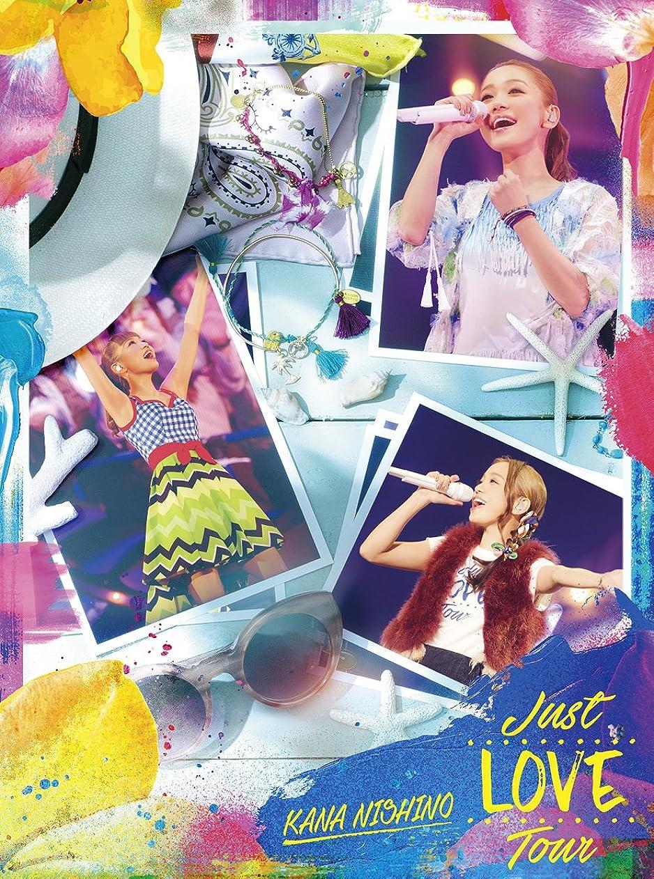 好意的以下原油Just LOVE Tour(初回生産限定盤) [Blu-ray]