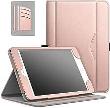 MoKo iPad Mini 3/2 / 1 Case, Slim Folding Stand Folio Cover Case for Apple iPad Mini 1 / Mini 2 / Mini 3, with Auto Wake/Sleep and Document Card Slots, Multiple Viewing Angles, Rose Gold