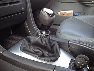 Saab 9-3 cuffia leva cambio in vera pelle nera