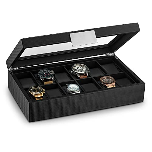 Watch Case For Large Watches Amazon Com