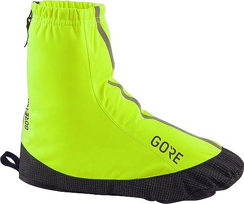 GORE Wear Unisexe Surchaussures de Cyclisme Imperméables, GORE C3 GORE-TEX lumière Overchaussures, Taille  39-41, Couleur  Noir, 100225