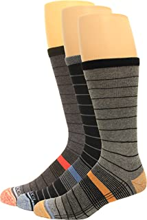 Rockport Mens Socks Basic Flat Knit Crew Sock Pick SZ//Color.