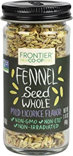 Frontier Culinary Spices Whole Fennel Seed, 1.41-Ounce Bottle
